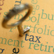Royalty-Free Stock Photo: Tax concept