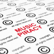 Music piracy — Stock Photo #6245411