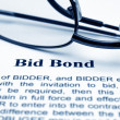 Bid bond — Stockfoto