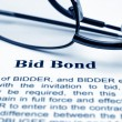Bid bond — Foto Stock