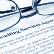 Consulting service agreement — Stock Photo #6245786