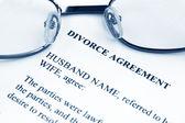 Divorce agreement — Stock Photo