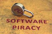 Software piracy — Stock Photo