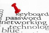 Password — Stock fotografie