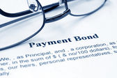 Payment bond — Stock Photo