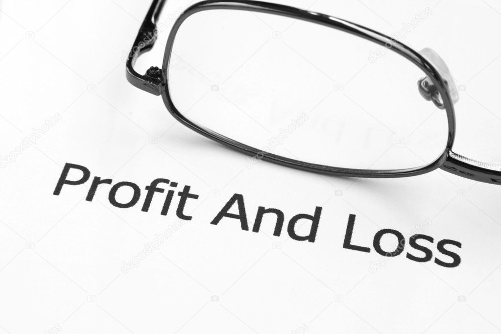 Profit and loss  — Stock Photo #6242609