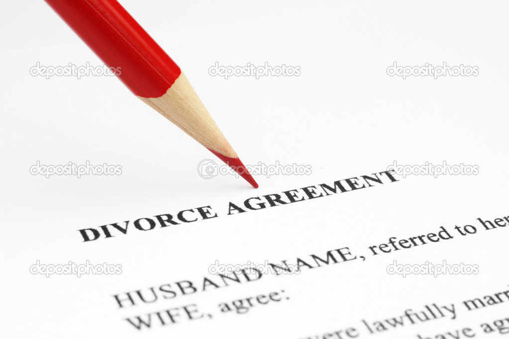 Divorce agreement — Stock Photo #6243505