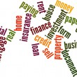 Royalty-Free Stock Photo: Loan word cloud
