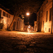 Old street at night - Stock Photo