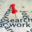 Foto de Stock  : Search job