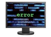 Error on screen — Stock Photo