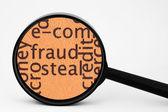 Fraud concept — Stock Photo