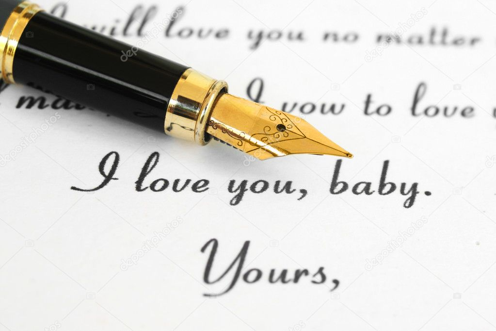 I love you — Stockfoto #6372217