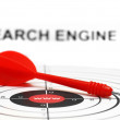 Royalty-Free Stock Photo: Search engine target