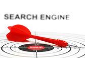 Search engine target — 图库照片