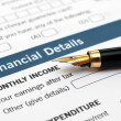 Royalty-Free Stock Photo: FInancial details