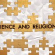 Stock Photo: Science and religion