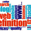 Stock Photo: Seo word cloud