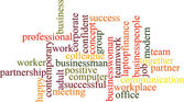Business word cloud — Stock Photo
