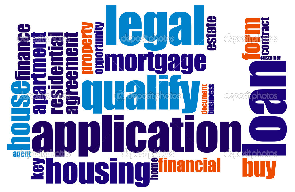Loan word cloud — Stock Photo #6393815