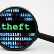 Theft concept — Stock Photo