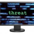 Threat concept — Stock Photo