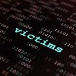 Victims — Stock Photo
