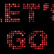 Royalty-Free Stock Photo: Let\'s go, text