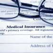 Stock Photo: Medical insurance