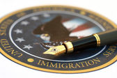 Immigration — Stock Photo