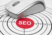 Seo target — Stock Photo