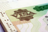 VIsa close up — Stock Photo