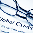 Royalty-Free Stock Photo: Global crisis
