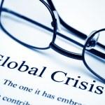 Global crisis — Stock Photo