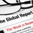 Global report - Stock Photo