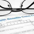 Health claim form — Stock Photo #6485698