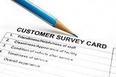 Indagine di Customer — Foto Stock
