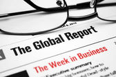 Global report — Stock Photo