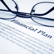 Financial plan — Stock Photo #6542811