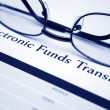 Electronic funds transfer — Foto Stock #6542821