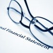 Personal financial statement — Stock Photo #6542984