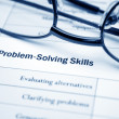 Stock Photo: Problem solving skills