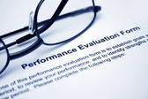 Formulario de evaluación de desempeño — Foto de Stock