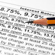 Interest rates — Stock Photo #6598217
