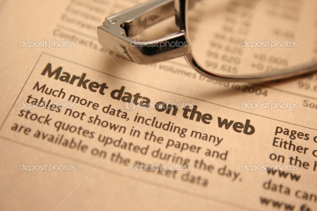 Market data — Stock Photo #6598267