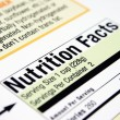 Nutrition facts — Stock Photo #6744851