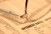 Interest rate — Stock Photo