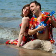 Stock Photo: Beach Serendade