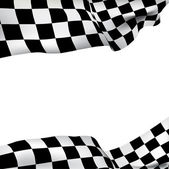 Background checkered flag — Stock vektor