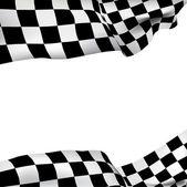 Bandiera a scacchi di sfondo — Vettoriale Stock